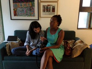 Patti Gonsalves and Bathsheba  in Discussion