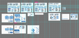 Process Shot of Graphic Visualization in Adobe Illustrator