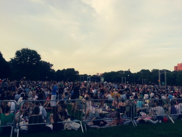 New York Philharmonic in Central Park!