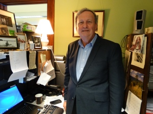 This is RB Swift in his office at the Pennsylvania Capitol.