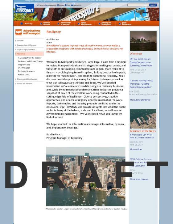 Homepage Draft