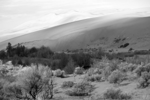 Great Sand Dunes Backcountry View Looking West