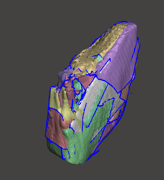 Colombian Mammoth Tooth Scan Sample